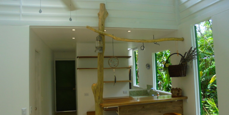 entrée terrasse dans cabina